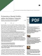 Entrevista a Daniel Goldin, editor de Océano Travesía _ Fundación La Fuente