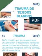 TRAMA TEJIDOS BLANDOS Y QUEMADURAS (SURA)