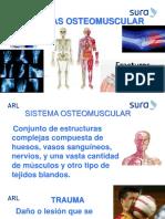 TRAUMAS OSTEOMUSCULARES (SURA)