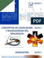 LEGISLACION Y BIOSEGURIDAD (SURA)