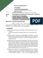 INFORME APRENDO EN CASA 2020 PROF. ORESTES