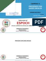 Cap 3.1 - Procesos Con Gases Ideales