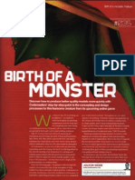 3dWorld_Birth of a Monster