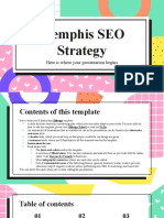 Memphis SEO Strategy by Slidesgo