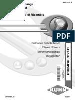 Primor 3570 Spare Parts List