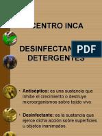 Desinfectantes Y DETERGENTES