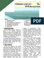Caa safety sense leaflet - for VFR