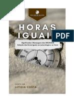 HORAS IGUAIS | Significados e Mensagens