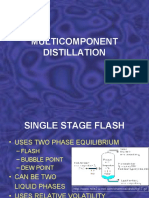 MULTICOMPONENT DISTILLATION CONCEPTS