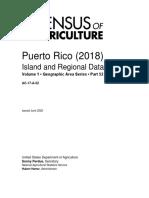 2017 Census of Agriculture Puerto Rico