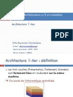 Arcitecture  1-tier