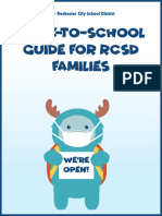 RCSD parent guide for returning to school