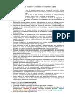 EJEMPLO DE CONCLUSIONES DESCRIPTIVAS EPT