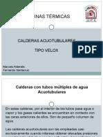 Presentación Caldera Velox