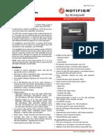 1 Panel de Control Notifier NFS-320