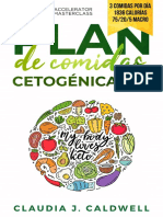 Plan de Comidas Cetogénicas de 30 Días - Semana 3