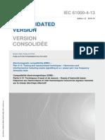 IEC 61000-4-13-2015
