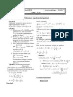 polynômes 1ière s1