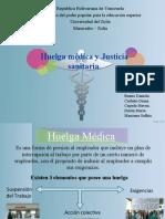 huelga medica y justicia sanitaria