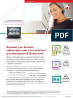 Empower your business collaborators with a fast Intel Core processor-powered Chromebook