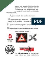 PICTOGRAMAS E IDEOGRAMAS