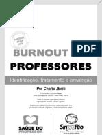 cartilha bournout professores