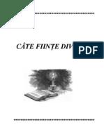 Cate Fiinte Divine