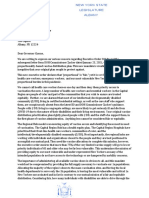 Letter to Re-Prioritize NY's Vulnerable Communities in Vaccination Efforts