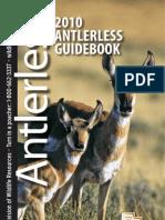 2010 Utah Anterless Guidebook