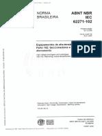 Abnt Nbr Iec 62271-102
