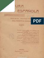 01 Cultura Española. 02-1906, n.º 1