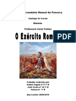 trabalho de historia sobre exercito romano