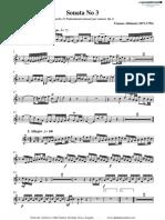 [Clarinet Institute] Albinoni, Tomaso - Sonata Op 6 No 3
