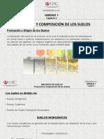 2.0 Formacion y Composicion de Los Suelos