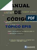 MANUAL DE CODIGO - TOPICO EPIS