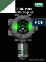 Boletin ULTIMA X5000 gas monitor-ES