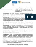 RECOMENDAÇÕES CME 002.2020