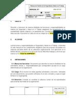 Manual de Responsabilidades en Seguridad y Salud en el Trabajo-COVID-19