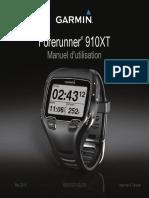 Forerunner 910XT OM FR