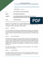 Civil Aviation Authority of the Philippines Memorandum Circular No. 03 2021