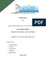 MARCO TEORICO monografía -