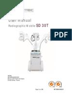 Manual de uso SD 30T DR en inglés