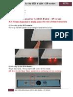 Manual de uso simplificado DR SD30 DR en inglés