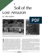 Manmade Bio-Char soils in the Amazon Basin Feb07_TerraPreta