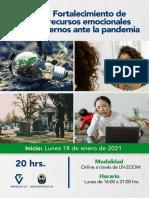 FORTALECIMIENTO DE RECURSOS EMOCIONALES
