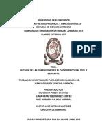 Eficacia de Las Grabaciones en El Codigo Procesal Civil y Mercantil