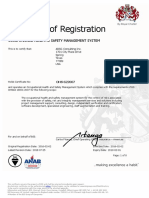 All Offices OHSAS 18001 Cert No. OHS 622007 Exp. 01 Feb 2019 (Updated July 2018)