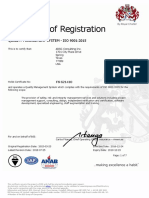 All Offices ISO 9001_2015 Cert No. FS 621410 Exp. Dec 23, 2019