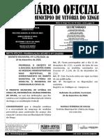 Diário EXTRA -  PRORROGAÇÃO DECRETO Nº 5.264