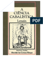A Ciência Cabalística - Lenain